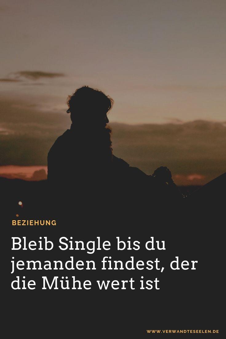 single-bleiben