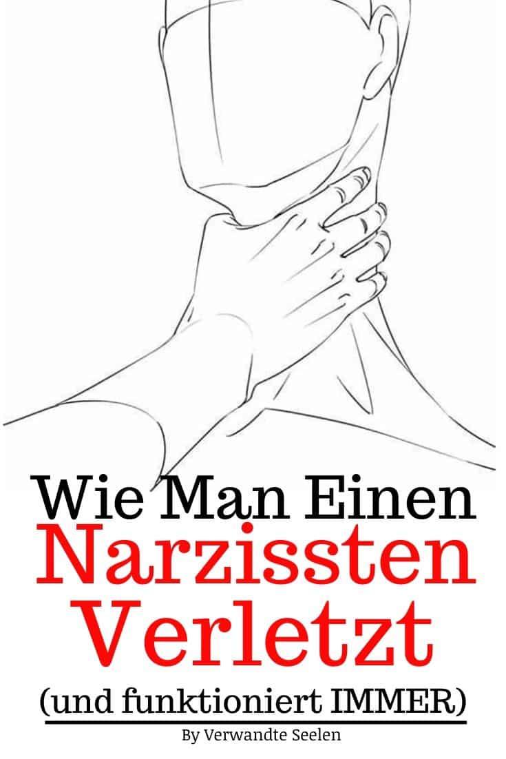 Wie man einen Narzissten verletzt