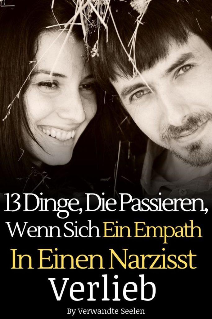 13 Beziehungsstufen zwischen Empath und Narzisst