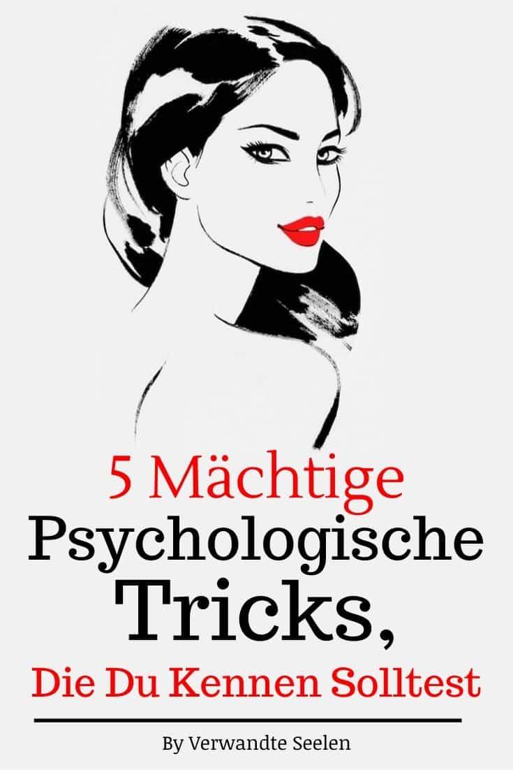 5 mächtige psychologische Tricks, die Du kennen solltest