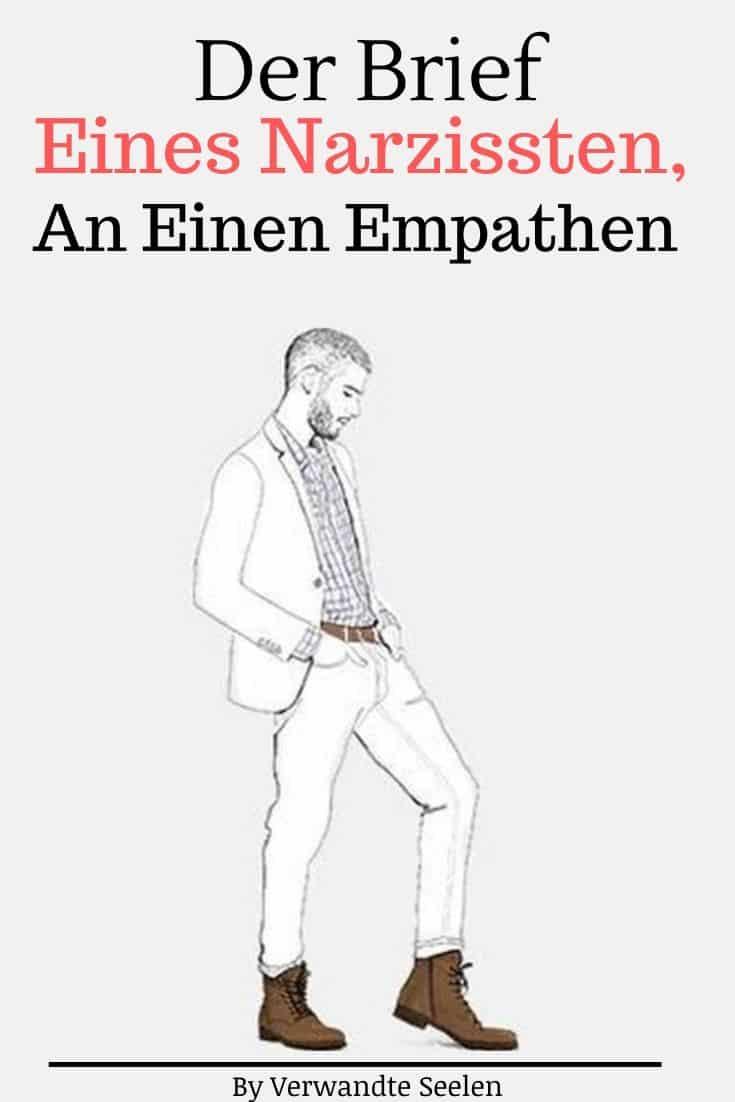 Der Brief eines Narzissten, an einen Empathen