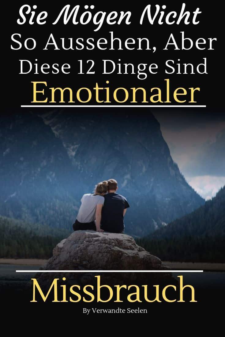 emotionaler Missbrauch beziehung