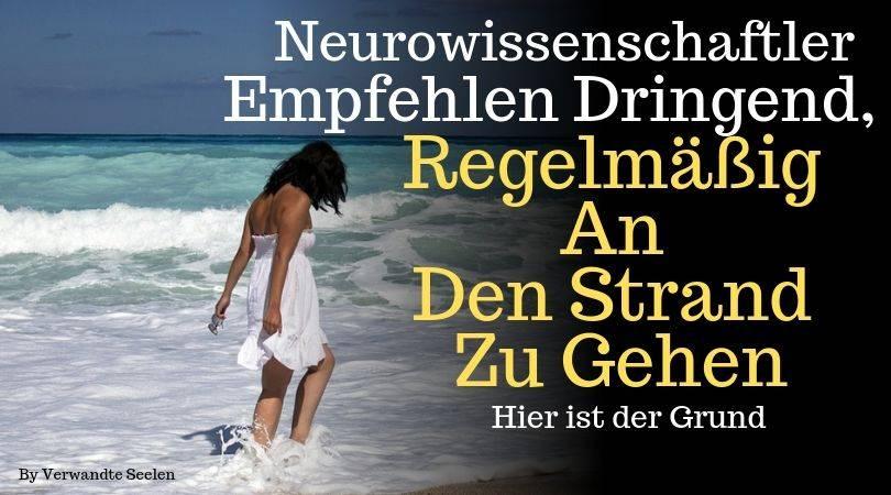 Neurowissenschaftler empfehlen dringend, regelmäßig an den Strand zu gehen