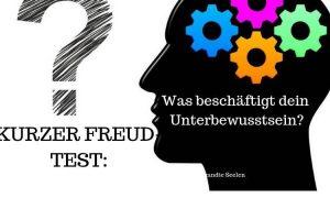 Kurzer Freud-Test: Was beschäftigt dein Unterbewusstsein?