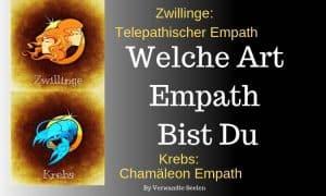 Welche Art Empath bist du basierend auf deinem Sternzeichen?