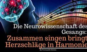 Die Neurowissenschaft des Gesangs: Zusammen singen bringt Herzschläge in Harmonie