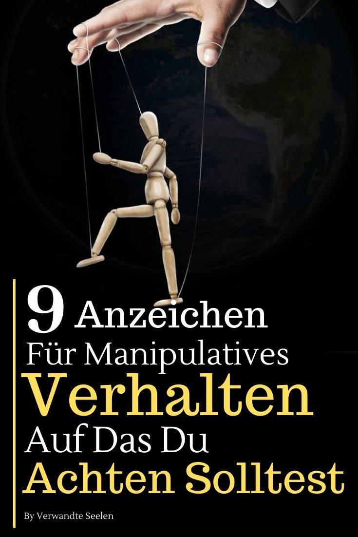 9 Anzeichen für manipulatives Verhalten, auf das du achten solltest