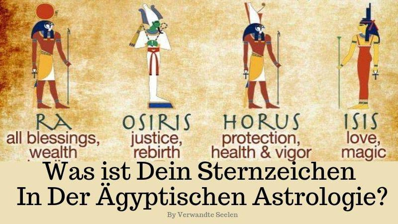 Was ist dein Sternzeichen in der ägyptischen Astrologie