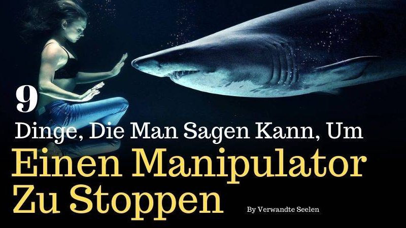 MANIPULATION STOPPEN-Manipulator zu stoppen-Psychospiele zu stoppen