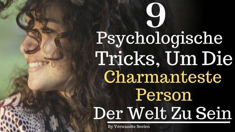 Psychologische Tricks-charmanteste Person