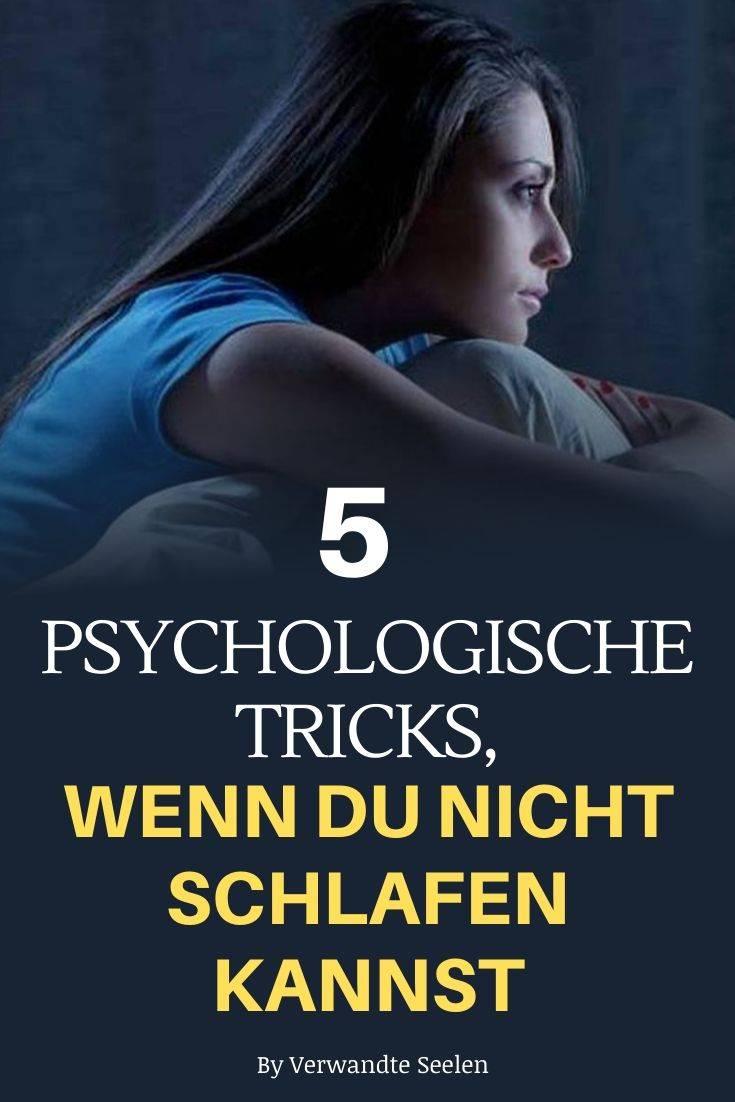 psychologische Tricks wenn du nicht schlafen kannst