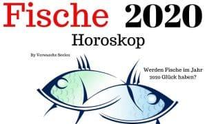 Fische 2020 Horoskop - Werden Fische im Jahr 2020 Glück haben?