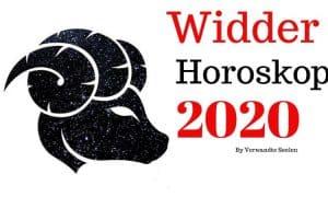 Widder 2020 Horoskop- Widder-Horoskop 2020 Jahresvorhersagen