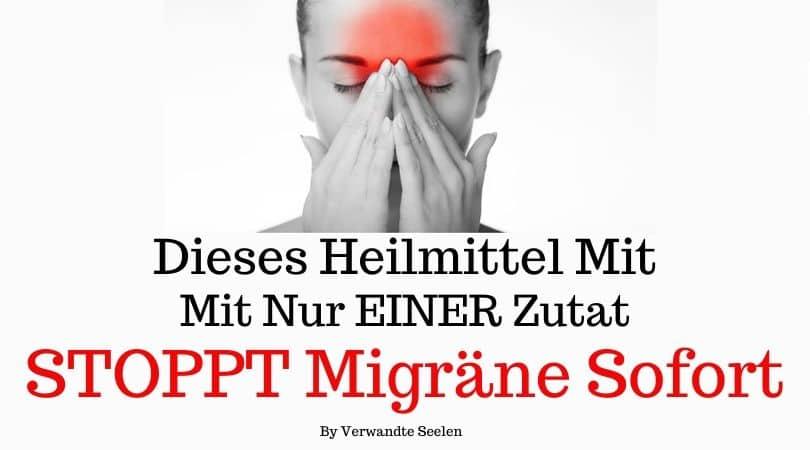 Dieses Heilmittel mit nur EINER Zutat STOPPT Migräne sofort