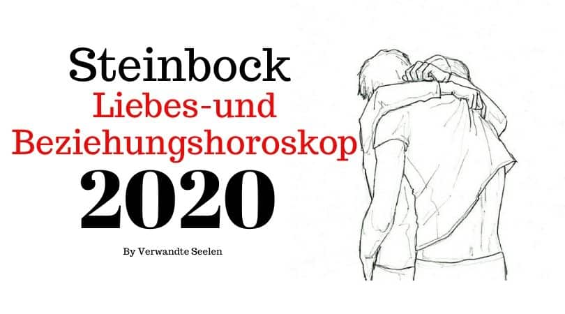 Horoskop steinbock single frau 2020