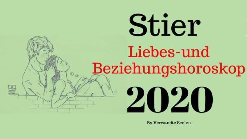 Stier liebes horoskop 2020-Stier sternzeichen beziehung 2020
