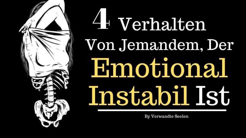 emotional instabile
