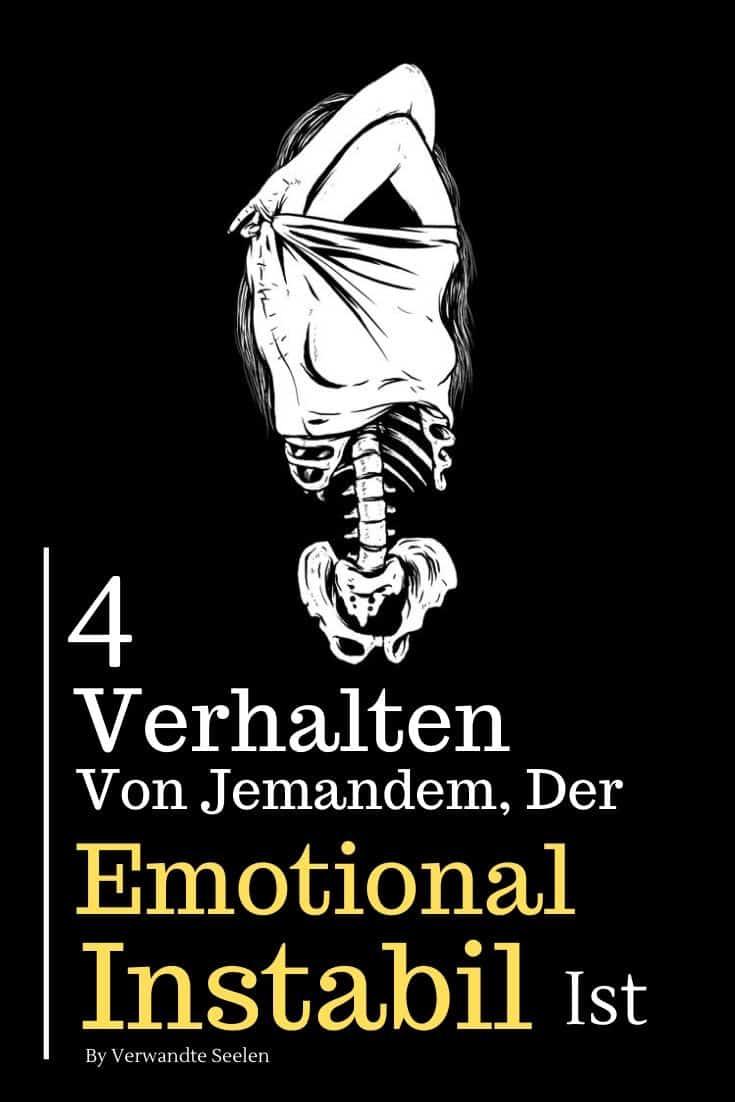 emotional instabile Persönlichkeitsstörung