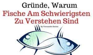 9 Gründe, warum Fische am schwierigsten zu verstehen sind