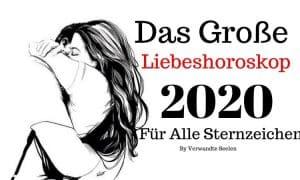 Das große Liebeshoroskop 2020 für alle Sternzeichen